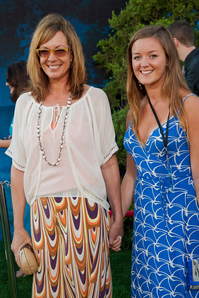 HOLLYWOOD, CA - JUNE 18: Actress Allison Janney (L) arrives at Disney Pixar's 'Brave' World Premiere at Dolby Theatre on June 18, 2012 in Hollywood, California. (Photo by Tom Sorensen/Moovieboy Pictures)