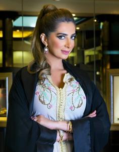 Emirati designer ELham Alfalmrzi