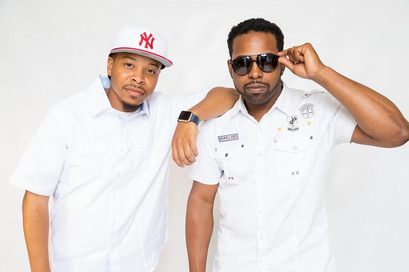 DJ Lennox & DJ HotRod photo shoot