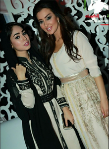 Rehab Abdula & Maysaa Maghrabi