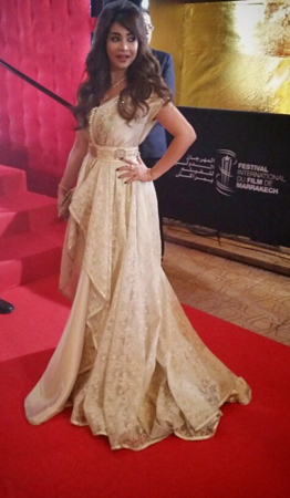 Lojain during Marrakech film festival