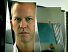 """The creator of  Nip/Tuck, Ryan Murphy, in his office at Paramount studios.  He was making his big screen debut with the movie he wrote, produced and directed himself.  """"Running With Scissors""""."""