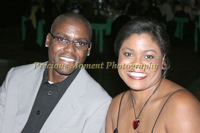 Carl and Carol Lewis guests at Bob Beamon's Charity Event