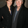 Actor Richard Gere and his wife Carey Lowell