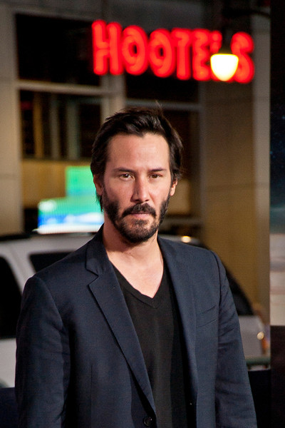 HOLLYWOOD, CA - OCTOBER 24: Actor Keanu Reeves arrives at the 'Cloud Atlas' - Los Angeles Premiere at Grauman's Chinese Theatre on Wednesday October 24, 2012 in Hollywood, California. (Photo by Tom Sorensen/Moovieboy Pictures)