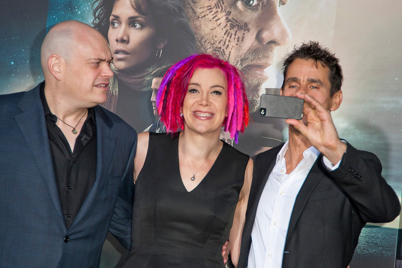 HOLLYWOOD, CA - OCTOBER 24: Directors Andy Wachowski, Lana Wachowski and Tom Tykwer arrive at the 'Cloud Atlas' - Los Angeles Premiere at Grauman's Chinese Theatre on Wednesday October 24, 2012 in Hollywood, California. (Photo by Tom Sorensen/Moovieboy Pictures)