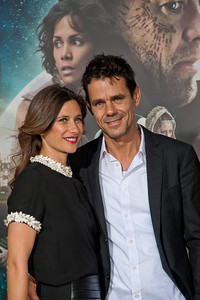 HOLLYWOOD, CA - OCTOBER 24: Director Tom Tykwer (R) and Marie Steinmann arrive at the 'Cloud Atlas' - Los Angeles Premiere at Grauman's Chinese Theatre on Wednesday October 24, 2012 in Hollywood, California. (Photo by Tom Sorensen/Moovieboy Pictures)