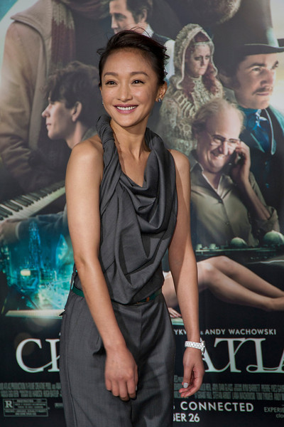 HOLLYWOOD, CA - OCTOBER 24: Actress Zhou Xun arrives at the 'Cloud Atlas' - Los Angeles Premiere at Grauman's Chinese Theatre on Wednesday October 24, 2012 in Hollywood, California. (Photo by Tom Sorensen/Moovieboy Pictures)