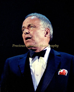 Frank Sinatra live in Conert at the Sunrise Musical Theater in Sunrise Florida