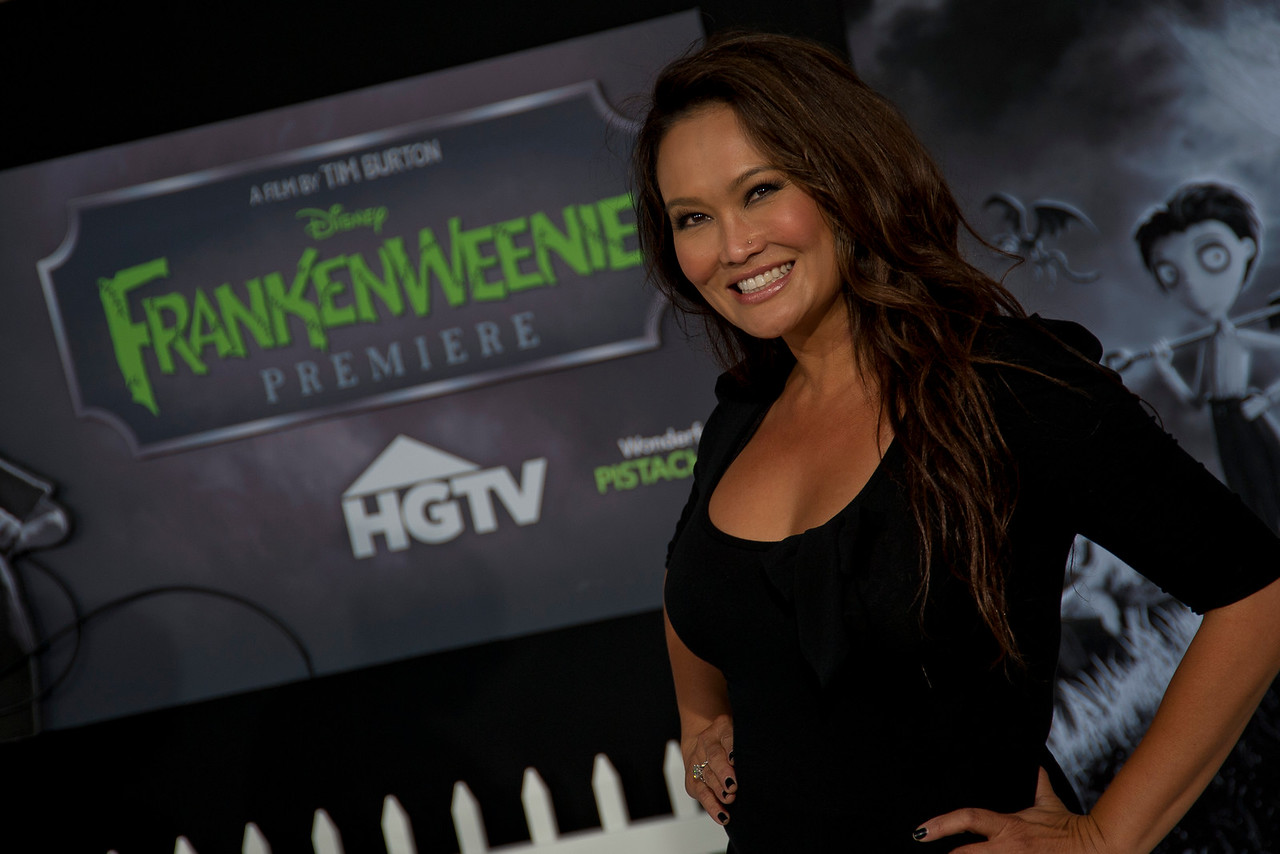 HOLLYWOOD, CA: Actress Tia Carrere arrives at the Premiere Of Disney's 'Frankenweenie' at the El Capitan Theatre on Monday, September 24, 2012 in Hollywood, California. (Photo by Tom Sorensen/Moovieboy Pictures)