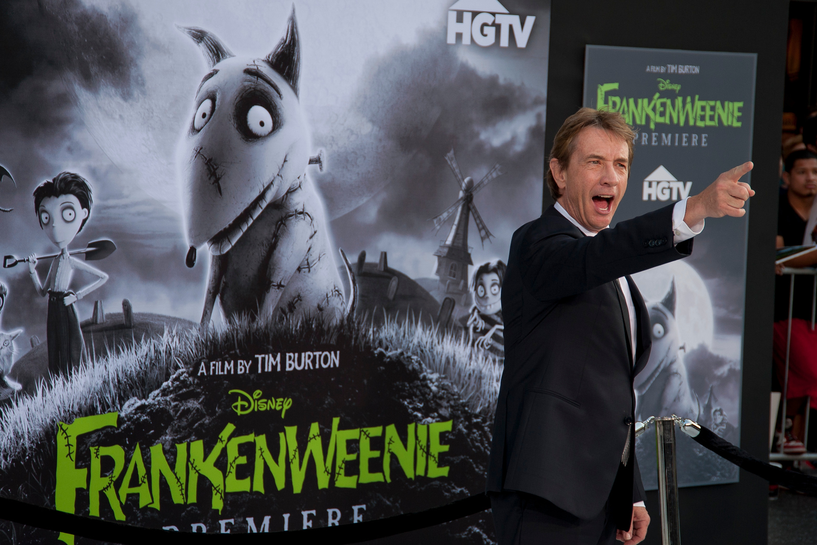 HOLLYWOOD, CA: Actor Martin Short arrives at the Premiere Of Disney's 'Frankenweenie' at the El Capitan Theatre on Monday, September 24, 2012 in Hollywood, California. (Photo by Tom Sorensen/Moovieboy Pictures)