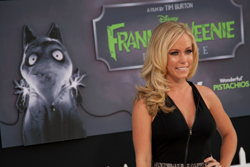 HOLLYWOOD, CA: Kendra Wilkinson arrives at the Premiere Of Disney's 'Frankenweenie' at the El Capitan Theatre on Monday, September 24, 2012 in Hollywood, California. (Photo by Tom Sorensen/Moovieboy Pictures)