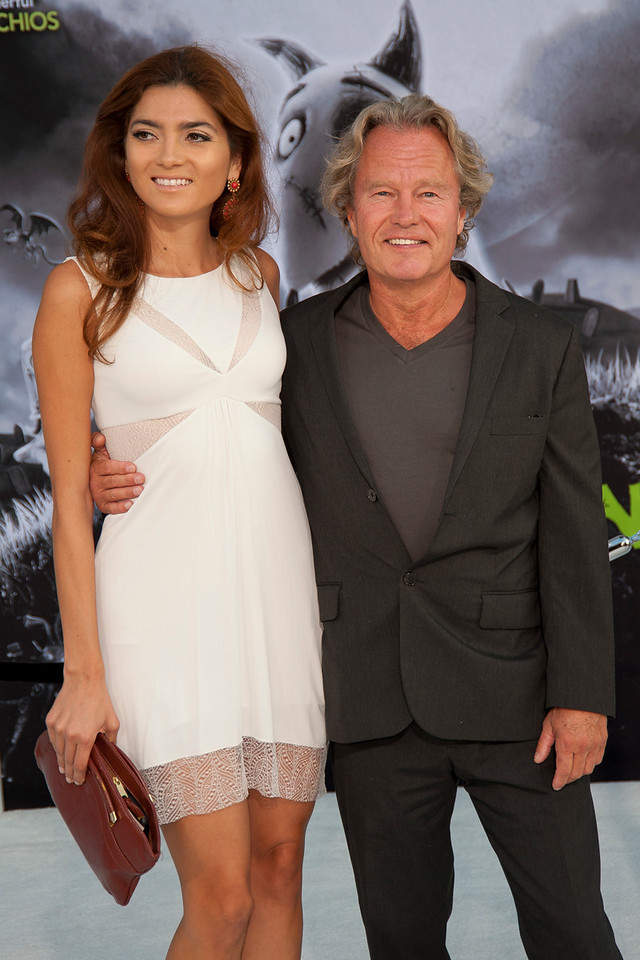 HOLLYWOOD, CA: Actors John Savage and Blanca Blanco arrive at the Premiere Of Disney's 'Frankenweenie' at the El Capitan Theatre on Monday, September 24, 2012 in Hollywood, California. (Photo by Tom Sorensen/Moovieboy Pictures)