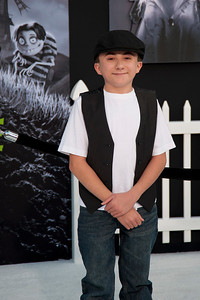 HOLLYWOOD, CA: Actor Atticus Shaffer arrives at the Premiere Of Disney's 'Frankenweenie' at the El Capitan Theatre on Monday, September 24, 2012 in Hollywood, California. (Photo by Tom Sorensen/Moovieboy Pictures)