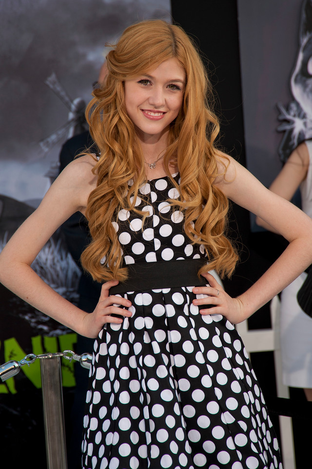 HOLLYWOOD, CA: Actress Katherine McNamara arrives at the Premiere Of Disney's 'Frankenweenie' at the El Capitan Theatre on Monday, September 24, 2012 in Hollywood, California. (Photo by Tom Sorensen/Moovieboy Pictures)