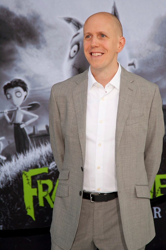 HOLLYWOOD, CA: Screenwriter John August arrives at the Premiere Of Disney's 'Frankenweenie' at the El Capitan Theatre on Monday, September 24, 2012 in Hollywood, California. (Photo by Tom Sorensen/Moovieboy Pictures)
