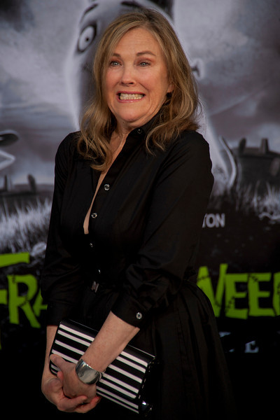 HOLLYWOOD, CA: Actress Catherine O'Hara arrives at the Premiere Of Disney's 'Frankenweenie' at the El Capitan Theatre on Monday, September 24, 2012 in Hollywood, California. (Photo by Tom Sorensen/Moovieboy Pictures)