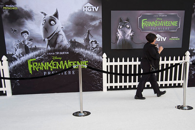 HOLLYWOOD, CA: Atmosphere at the Premiere Of Disney's 'Frankenweenie' at the El Capitan Theatre on Monday, September 24, 2012 in Hollywood, California. (Photo by Tom Sorensen/Moovieboy Pictures)