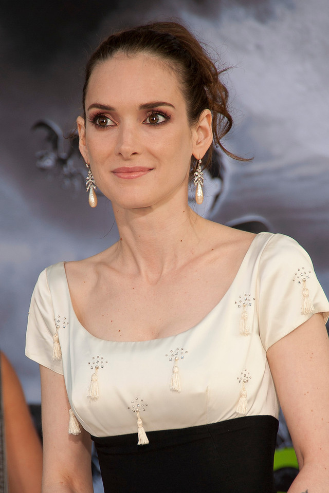 HOLLYWOOD, CA: Actress Winona Ryder attends the Premiere Of Disney's 'Frankenweenie' at the El Capitan Theatre on Monday, September 24, 2012 in Hollywood, California. (Photo by Tom Sorensen/Moovieboy Pictures)
