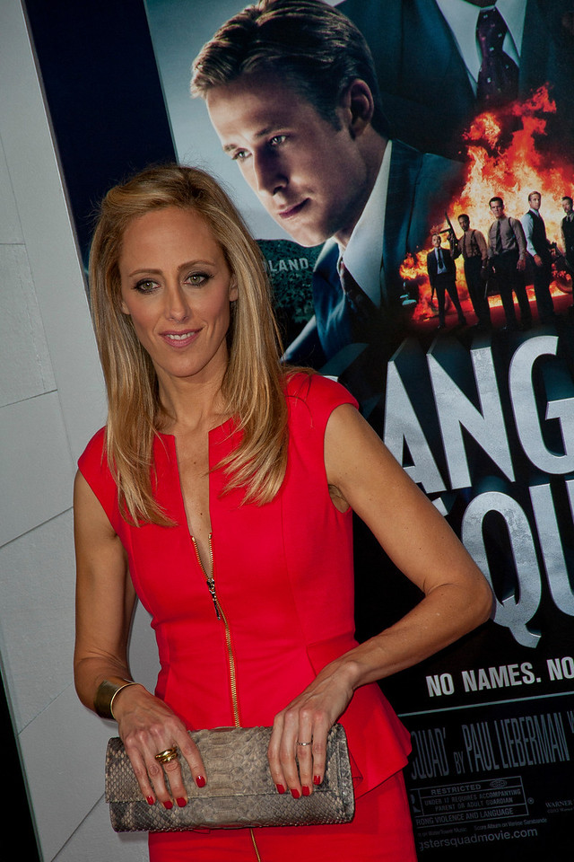 HOLLYWOOD, CA - JANUARY 07: Actress Kim Raver arrives at Warner Bros. Pictures' 'Gangster Squad' premiere at Grauman's Chinese Theatre on Monday, January 7, 2013 in Hollywood, California. (Photo by Tom Sorensen/Moovieboy Pictures)