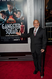 HOLLYWOOD, CA - JANUARY 07: Actor Jon Polito arrives at Warner Bros. Pictures' 'Gangster Squad' premiere at Grauman's Chinese Theatre on Monday, January 7, 2013 in Hollywood, California. (Photo by Tom Sorensen/Moovieboy Pictures)