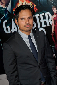 HOLLYWOOD, CA - JANUARY 07: Actor Michael Peña arrives at Warner Bros. Pictures' 'Gangster Squad' premiere at Grauman's Chinese Theatre on Monday, January 7, 2013 in Hollywood, California. (Photo by Tom Sorensen/Moovieboy Pictures)