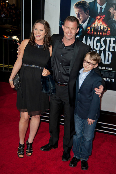 HOLLYWOOD, CA - JANUARY 07: Writer Will Beall and family arrive at Warner Bros. Pictures' 'Gangster Squad' premiere at Grauman's Chinese Theatre on Monday, January 7, 2013 in Hollywood, California. (Photo by Tom Sorensen/Moovieboy Pictures)