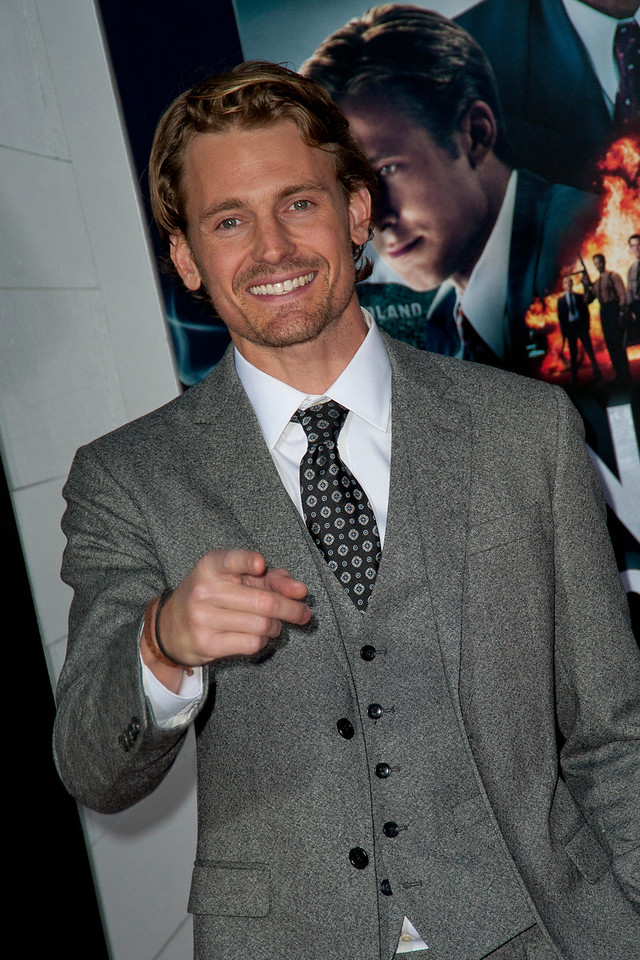 HOLLYWOOD, CA - JANUARY 07: Actor Josh Pence arrives at Warner Bros. Pictures' 'Gangster Squad' premiere at Grauman's Chinese Theatre on Monday, January 7, 2013 in Hollywood, California. (Photo by Tom Sorensen/Moovieboy Pictures)