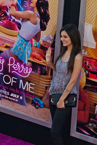 HOLLYWOOD, CA - JUNE 26: Singer Victoria Justice arrives at the premiere of Paramount Insurge's 'Katy Perry: Part Of Me' held at Grauman's Chinese Theatre on June 26, 2012 in Hollywood, California. (Photo by Tom Sorensen/Moovieboy Pictures)