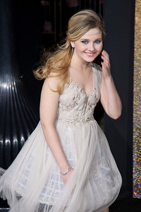 HOLLYWOOD, CA: Actress Abigail Breslin arrives at the Premiere of Warner Bros. Pictures' 'New Year's Eve' at Grauman's Chinese Theatre. Photo taken on Monday, December 5, 2011 by Tom Sorensen/Moovieboy Pictures.