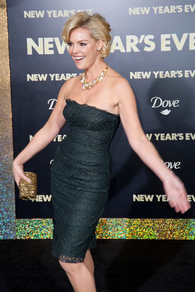 HOLLYWOOD, CA: Actress Katherine Heigl arrives at the Premiere of Warner Bros. Pictures' 'New Year's Eve' at Grauman's Chinese Theatre. Photo taken on Monday, December 5, 2011 by Tom Sorensen/Moovieboy Pictures.