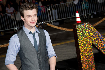HOLLYWOOD, CA: Actor Chris Colfer arrives at the Premiere of Warner Bros. Pictures' 'New Year's Eve' at Grauman's Chinese Theatre. Photo taken on Monday, December 5, 2011 by Tom Sorensen/Moovieboy Pictures.