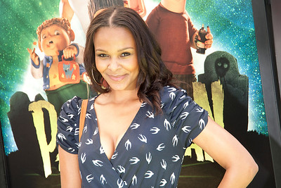 UNIVERSAL CITY, CA - AUGUST 05: Actress/singer Samantha Mumba arrives to the premiere of Focus Features' 'ParaNorman' at Universal CityWalk on Sunday, August 5, 2012 in Universal City, California. (Photo by Tom Sorensen/Moovieboy Pictures)