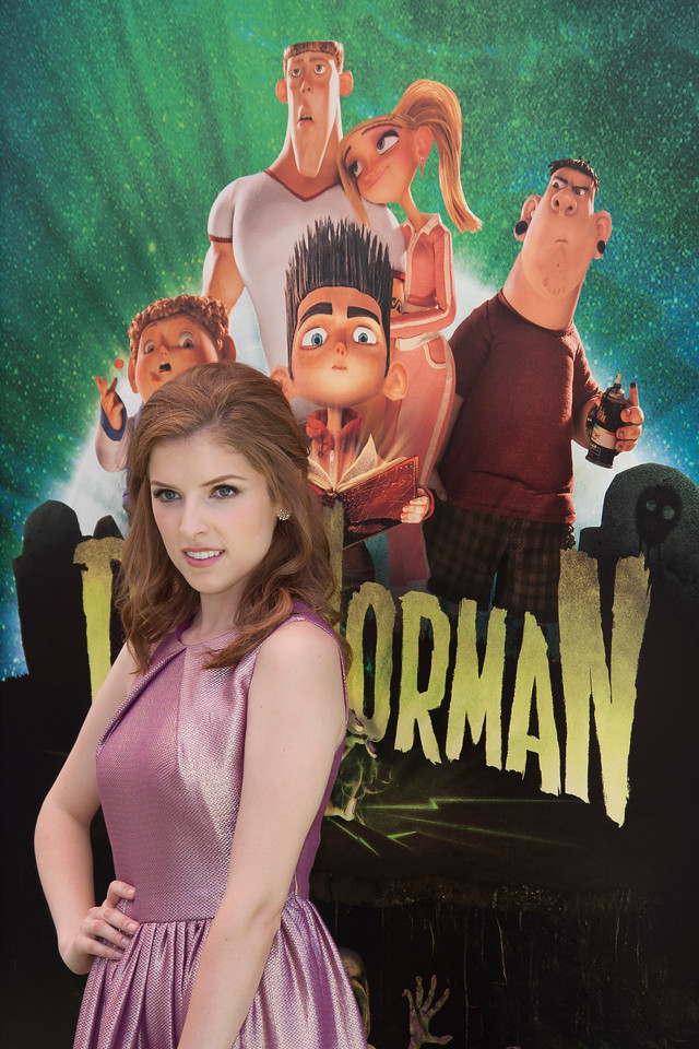 UNIVERSAL CITY, CA - AUGUST 05: Actress Anna Kendrick arrives to the premiere of Focus Features' 'ParaNorman' at Universal CityWalk on Sunday, August 5, 2012 in Universal City, California. (Photo by Tom Sorensen/Moovieboy Pictures)