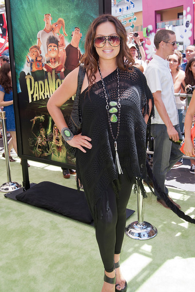 UNIVERSAL CITY, CA - AUGUST 05: Actress Tia Carrere arrives to the premiere of Focus Features' 'ParaNorman' at Universal CityWalk on Sunday, August 5, 2012 in Universal City, California. (Photo by Tom Sorensen/Moovieboy Pictures)