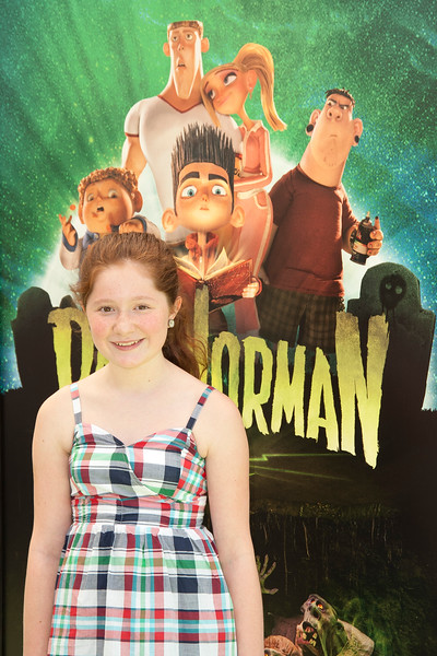 UNIVERSAL CITY, CA - AUGUST 05: Actress Emma Kenney arrives to the premiere of Focus Features' 'ParaNorman' at Universal CityWalk on Sunday, August 5, 2012 in Universal City, California. (Photo by Tom Sorensen/Moovieboy Pictures)