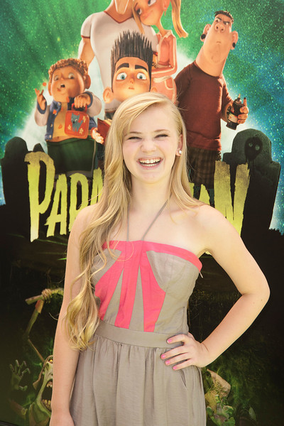 UNIVERSAL CITY, CA - AUGUST 05: Actress Sierra McCormick arrives to the premiere of Focus Features' 'ParaNorman' at Universal CityWalk on Sunday, August 5, 2012 in Universal City, California. (Photo by Tom Sorensen/Moovieboy Pictures)