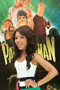 UNIVERSAL CITY, CA - AUGUST 05: Actress Teala Dunn arrives to the premiere of Focus Features' 'ParaNorman' at Universal CityWalk on Sunday, August 5, 2012 in Universal City, California. (Photo by Tom Sorensen/Moovieboy Pictures)