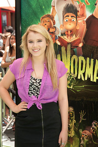 UNIVERSAL CITY, CA - AUGUST 05: Actress Taylor Spreitler arrives to the premiere of Focus Features' 'ParaNorman' at Universal CityWalk on Sunday, August 5, 2012 in Universal City, California. (Photo by Tom Sorensen/Moovieboy Pictures)