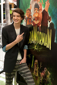 UNIVERSAL CITY, CA - AUGUST 05: Actor Kodi Smit-McPhee arrives to the premiere of Focus Features' 'ParaNorman' at Universal CityWalk on Sunday, August 5, 2012 in Universal City, California. (Photo by Tom Sorensen/Moovieboy Pictures)