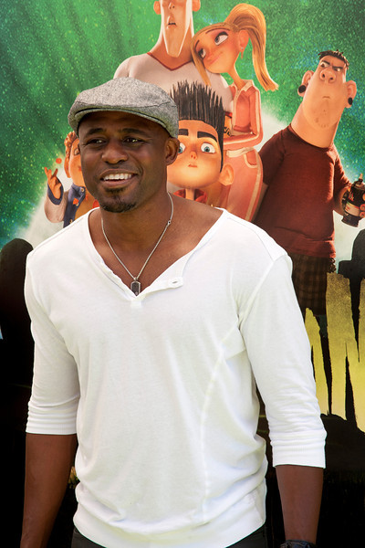UNIVERSAL CITY, CA - AUGUST 05: TV personality Wayne Brady arrives at the premiere of Focus Features' 'ParaNorman' at Universal CityWalk on Sunday, August 5, 2012 in Universal City, California. (Photo by Tom Sorensen/Moovieboy Pictures)