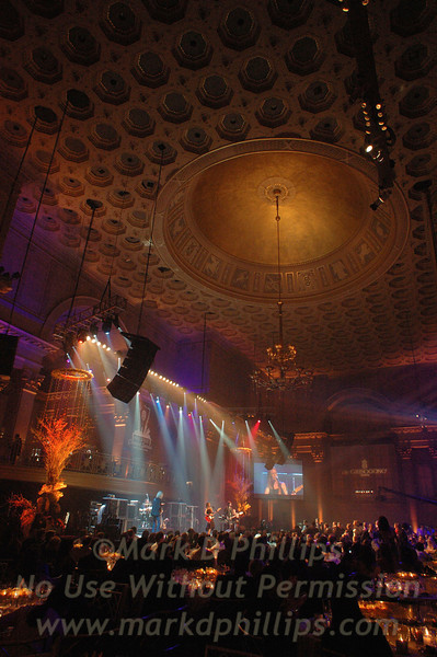 Sheryl Crow sings at Cipriani Wall Street in Manhattan during private concert series.