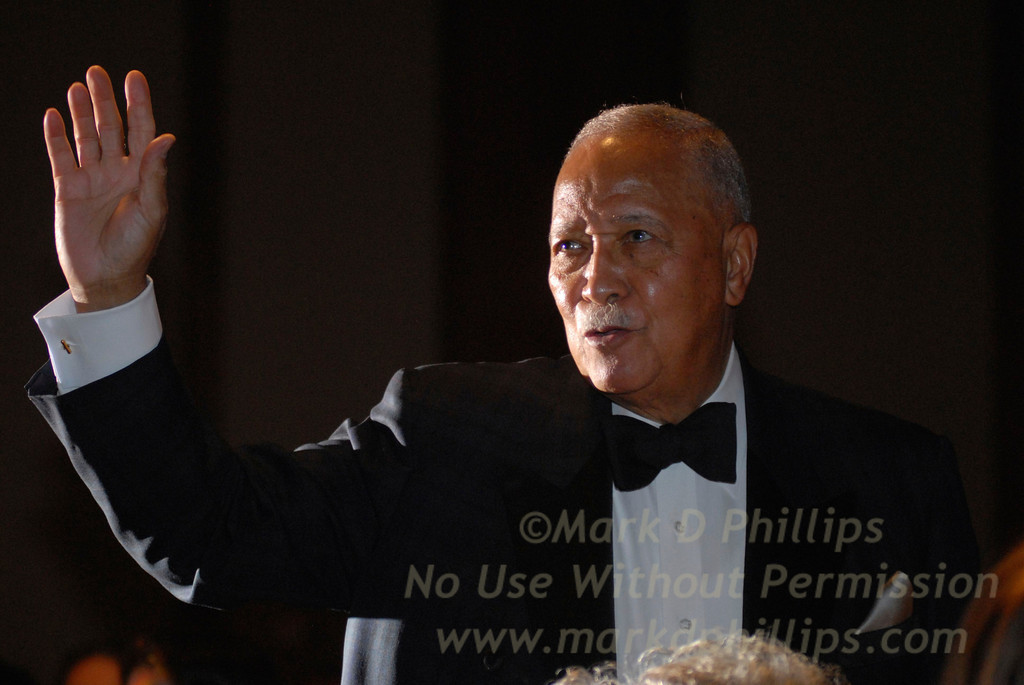 David Dinkins at Sportsball 2007 at Chelsea Piers in New York City