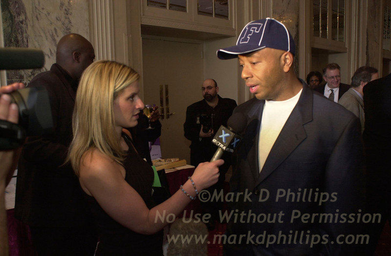 Russell Simmons at Sportsball 2002 held at the Waldorf Astoria on April 17, 2002