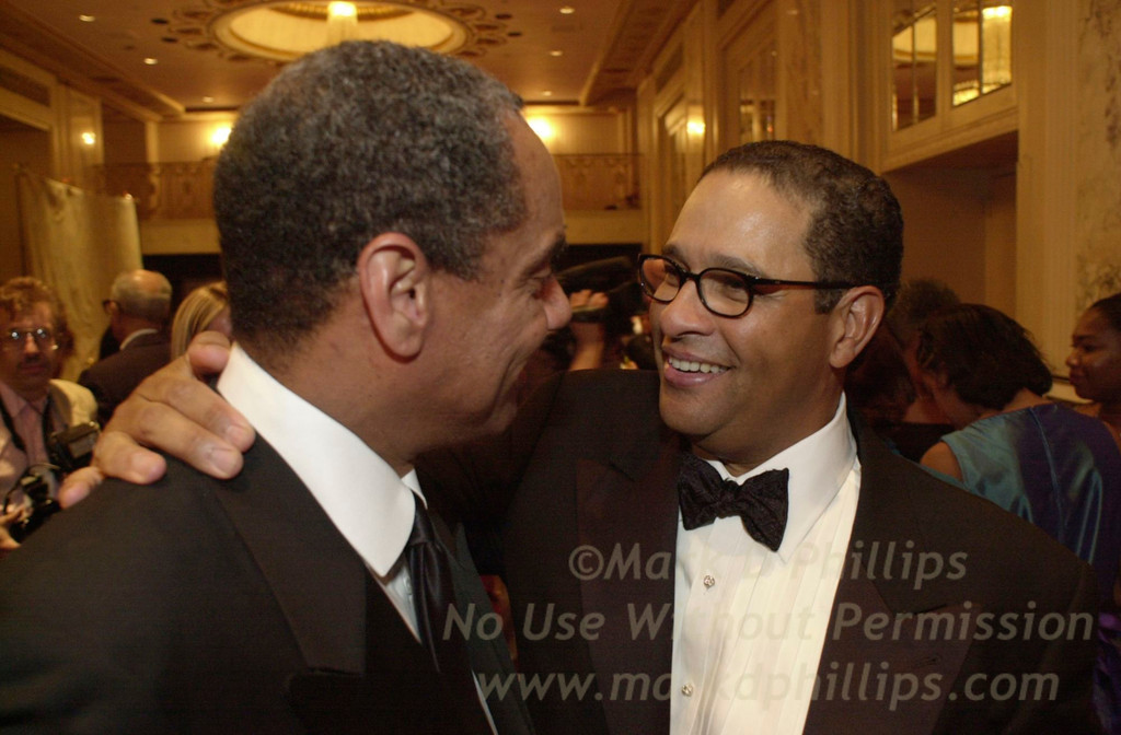 Bryant Gumbel at Sportsball 2002 held at the Waldorf Astoria on April 17, 2002
