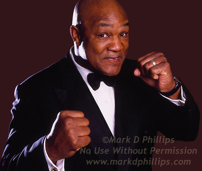 George Foreman at Sportsball