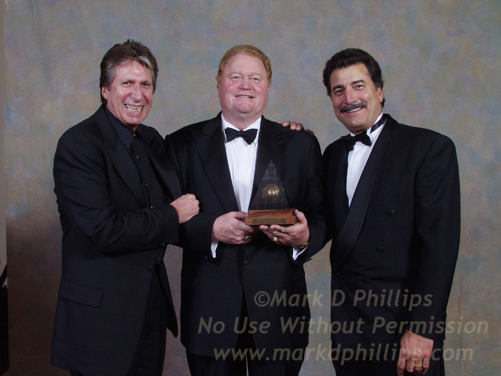 David Brenner, Rusty Staub, and Keith Hernandez at Sportsball 2002 held at the Waldorf Astoria on April 17, 2002