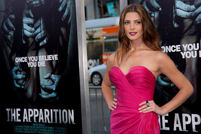 HOLLYWOOD, CA - AUGUST 23: Actress Ashley Greene arrives to the premiere of Warner Bros. Pictures' 'The Apparition' at Grauman's Chinese Theatre on Thursday, August 23, 2012 in Hollywood, California. (Photo by Tom Sorensen/Moovieboy Pictures)