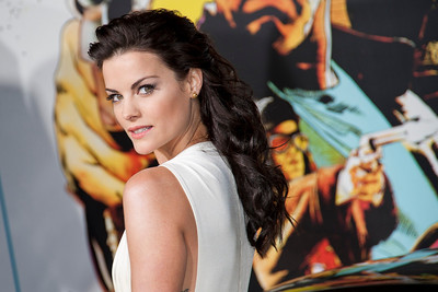 HOLLYWOOD, CA - JANUARY 14: Actress Jaimie Alexander arrives at the premiere of Lionsgate Films' 'The Last Stand' at Grauman's Chinese Theatre on Monday, January 14, 2013 in Hollywood, California. (Photo by Tom Sorensen/Moovieboy Pictures)