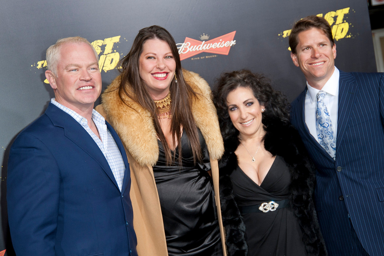 HOLLYWOOD, CA - JANUARY 14: Actor Neal McDonough, Ruve McDonough and guests arrive at the premiere of Lionsgate Films' 'The Last Stand' at Grauman's Chinese Theatre on Monday, January 14, 2013 in Hollywood, California. (Photo by Tom Sorensen/Moovieboy Pictures)
